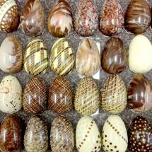 Osterei aus Schokolade